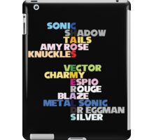 Chaos Emeralds iPad Case/Skin