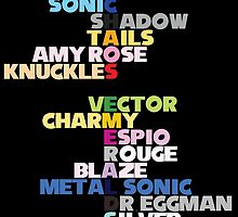 Chaos Emeralds by FanAddictedTees