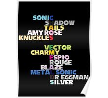 Chaos Emeralds Poster