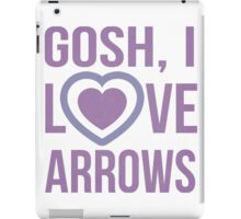 "Hawkeye Comics- ""Gosh, I love arrows."" iPad Case/Skin"