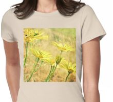 Daylight Daisies Womens Fitted T-Shirt