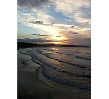 Sunset sea view Photographic Print