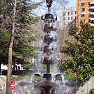 Seattle Fountain by Tamara Valjean