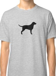 Curly Coated Retriever Silhouette(s) Classic T-Shirt