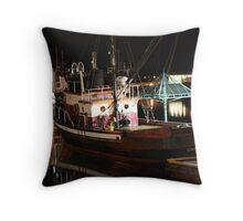 Calm Seas Throw Pillow