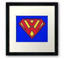 Super VW / Volkswagen Framed Print