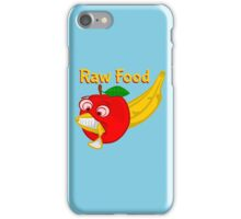 Raw Foods Food Fight iPhone Case/Skin