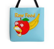 Raw Foods Food Fight Tote Bag