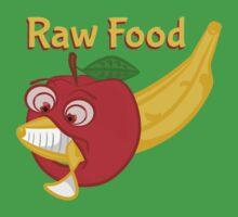 Raw Foods Food Fight Kids Tee