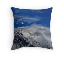 Peaks of Heaven Throw Pillow