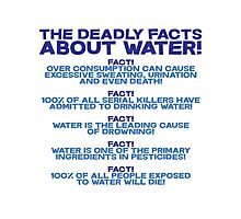 The deadly facts about water Photographic Print