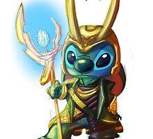 Stitch Loki by iberbronies