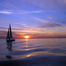 Dusk Sailing by Michael Jeffries