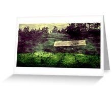 Spirits Dance Upon A Sleeping Field Greeting Card
