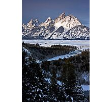 Snake River Overlook, Jackson Hole, Wyoming Photographic Print