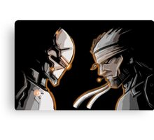 Ninja Vs Snake Canvas Print