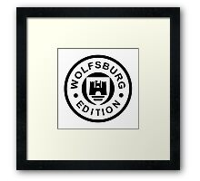 Wolfsburg Edition (black) 1c Framed Print