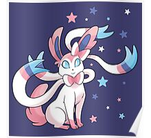 Starry Sylveon Poster