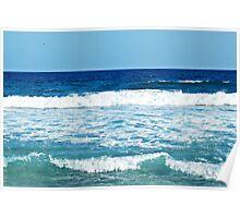 Splashing Blues. Poster