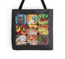 .::Noteable Dragons::. Tote Bag