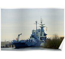 Battleship North Carolina Poster
