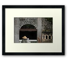 Temple of Literature Framed Print