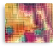 Colored Tetris Canvas Print