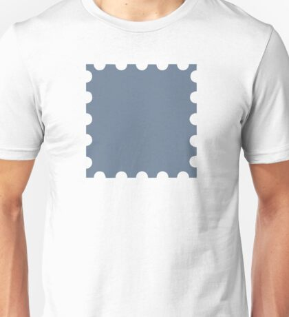 Grey stamp Unisex T-Shirt