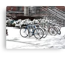 A COLD RIDE Metal Print