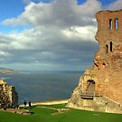 Scarborough Castle by Paul McGuire