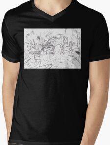 Garden Party Mens V-Neck T-Shirt