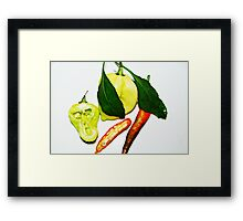 HOT .. Framed Print