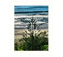 Surfers Paradise Beach, Queensland Art Print