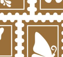 Butterfly stamp collection Sticker