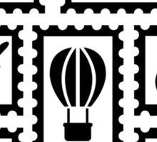 Stamp collection Sticker