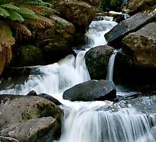 Keppel Falls by Vincent  Yeow