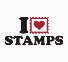I love stamps Kids Clothes