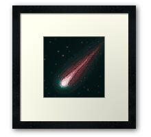 Comet ISON (8bit) Framed Print