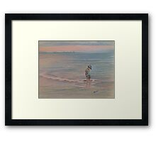 Beach Thoughts Framed Print