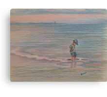 Beach Thoughts Canvas Print