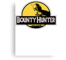 Bounty Hunter Rex Canvas Print