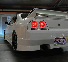 Nissan Skyline GTS-t R33 Rear by impulse