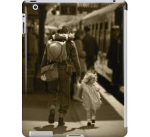 Moment in time  iPad Case/Skin