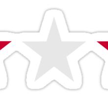 Austria flag stars Sticker