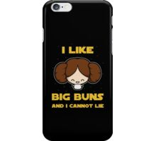 I like big buns iPhone Case/Skin
