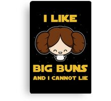 I like big buns Canvas Print