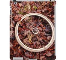 Decomposed bicycle parts iPad Case/Skin