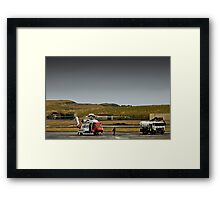 Fill her up and check the oil please. Framed Print