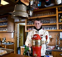 time for something warm -Café-Restaurant Arnouva- Crans Montana - Swiss by GOSIA GRZYBEK