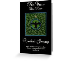 Oracle Card - The Crow - North Greeting Card